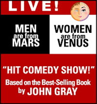 El Portal Theatre Men Are From Mars, Woman Are From Venus LIVE!