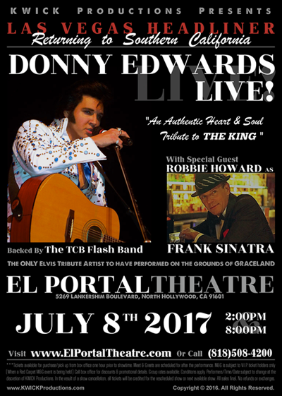 El Portal Theatre Donny Edwards Live