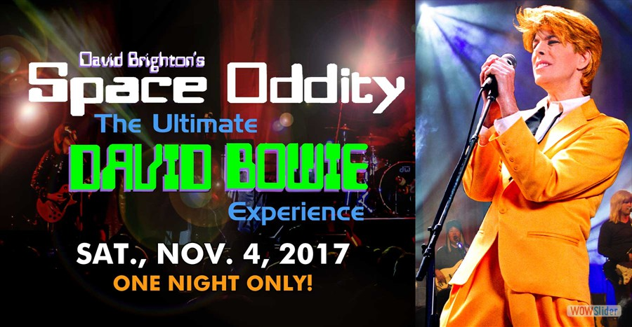 El Portal Theatre Space Oddity: The Ultimate David Bowie Experience