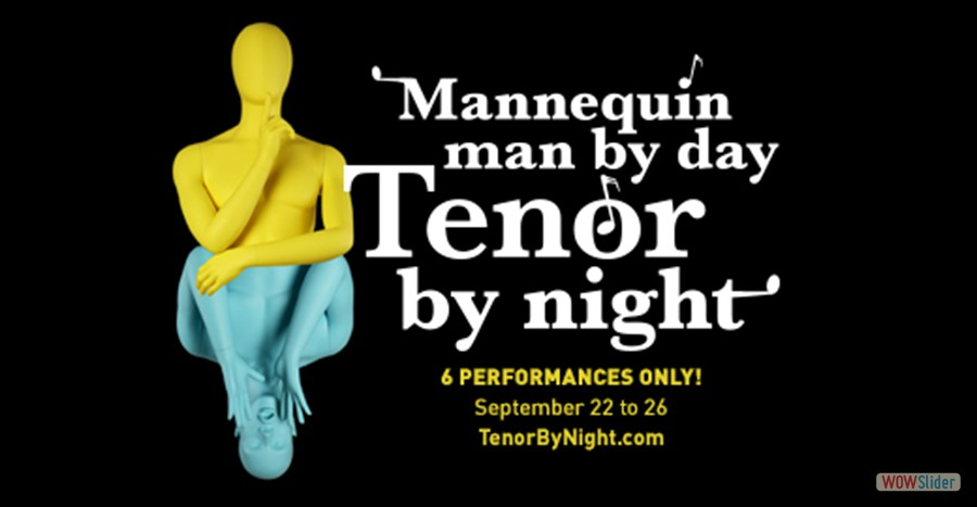El Portal Theatre Mannequin Man by Day, Tenor by Night