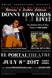 El Portal Theatre Donny Edwards Live!