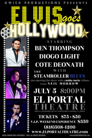 El Portal Theatre Elvis Goes Hollywood